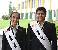 Head Boy and Head Girl of FIA