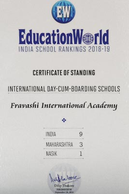 Education World ranks FIA 6th Best International School