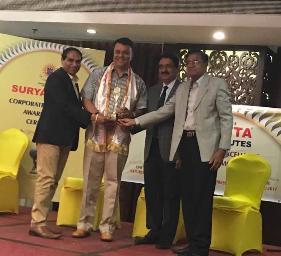 Suryadatta Corporate Excellence Award 2017 of FIA