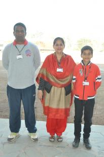 Master Mohit Negi of Fravashi International Academy Selected for the 61st National School Games Cricket Championship