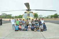 Visit to CATT (Combat Army Aviation Training Centre)